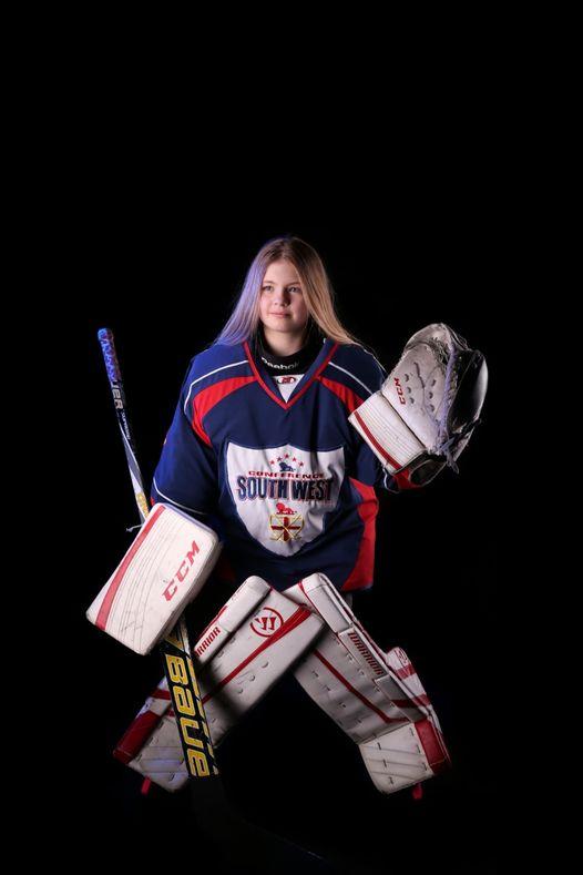 GB Ice Hockey Trials for Kayla